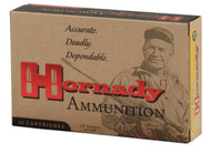 Hornady Custom .308 Win 150 Grain SST (Super Shock Tip), has 20 rounds per box, manufactured by Hornady.