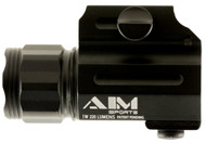 Compact universal flashlight with a QR mount (quick release) manufactured by Aim Sports!