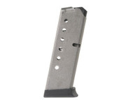 This is an USED 7 round factory magazine for the Smith & Wesson 45 acp, fits models: 457, 457D, 457S, 4513TSW, 4516, 4536, 4553TSW, 4556, and 4596.