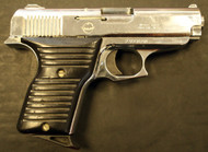 Used Lorcin chambered in .380 Auto with a bright polished stainless finish.