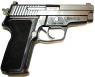 Used Sig Sauer M11-A1 chambered in 9mm. Comes with two (2) 15 round magazines. Also has original box. Tritium Night Sights.