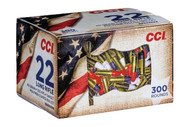 300 round Patriotic pack has polymer coated bullets to resemble the U.S. Flag. Muzzle velocity is over 1,200 feet per second, because freedom doesn't slow down for anybody!