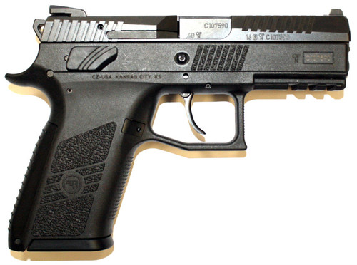 Used CZ P-07 pistol chambered in .40 S&W. Comes original box and paperwork and two (2) 12 Round magazines.