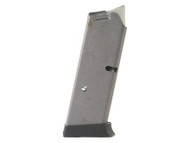 This is an used 7 round factory magazine for the Smith & Wesson CS40 40sw.