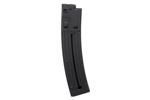 This is a 25 round factory magazine for the STG 44 22 long rifle, made by GSG.