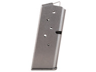 This is a factory Colt magazine for the Pocket 9 9mm, 6 round capacity.
