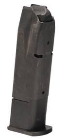This is a Sig Sauer magazine for the 226 9mm, it has a maximum capacity of 10 rounds, USED.