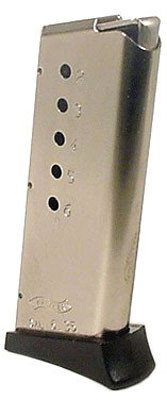 This is a 6 round factory magazine for the Walther TPH 25 acp.