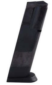 This is a 10 round factory magazine for the full-size Baby Eagle 9mm, made by Magnum Research.