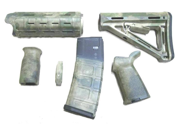 Ar 15 A Tacs Matrix Magpul Accessory Kit Milspec