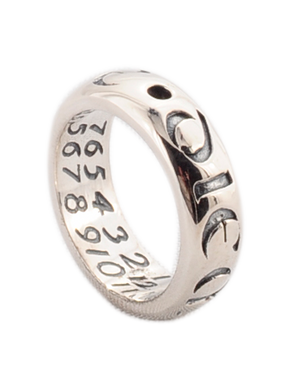 Carpe Diem Sterling Silver Ring - Seize the Day