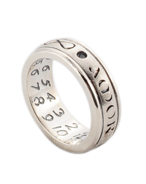 Sol Lucet Omnibus Sterling Silver Sundial Ring