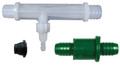 Mazzei #88 Injector Kit includes Mazzei's LGM but NOT the Reducer Nozzle (black piece shown here)