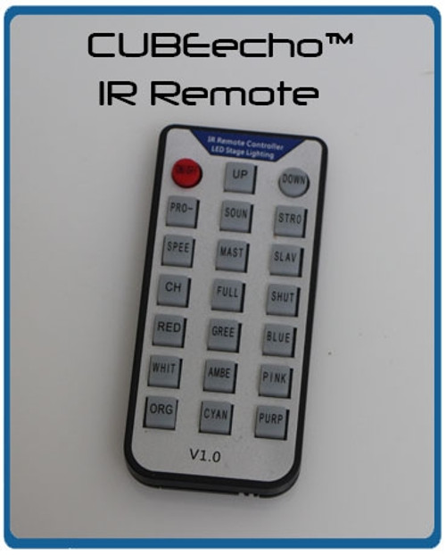 IR Remote for CUBEecho