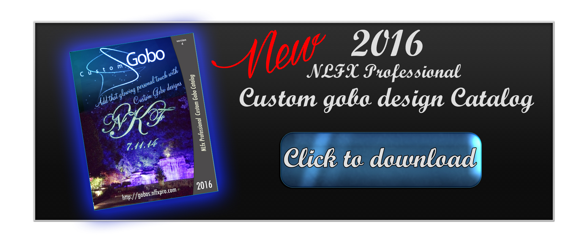 NLFX Gobo Design Catalog for 2016
