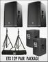 ETX-12P Speaker Package