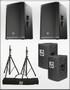 ETX-15P Speaker Package