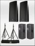 ETX-35P Speaker Package