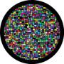 Rosco Mosaic Tiling Breakup Gobo 86757