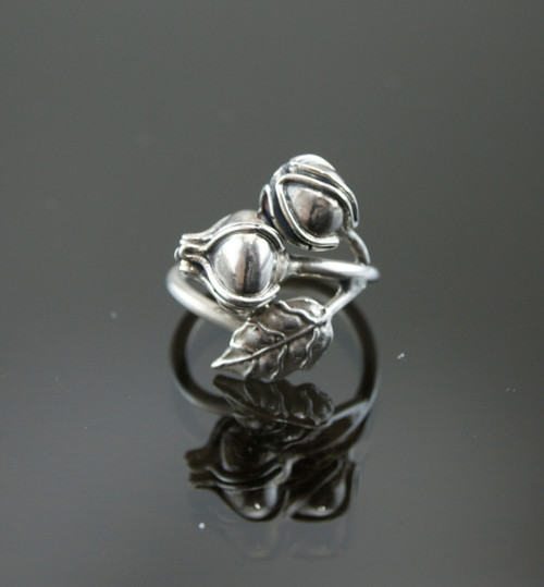 Nine50 Handmade Silver Flower Ring