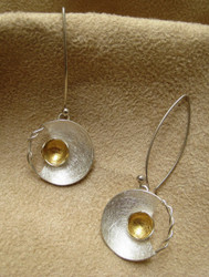 Nine50 Peruvian Silver Sun Earrings