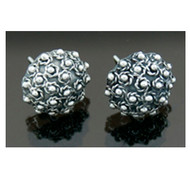 Media Esfera Stud Earrings