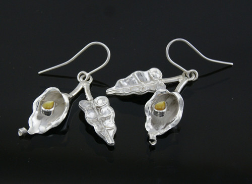 Nine50 Silver Lily Earrings
