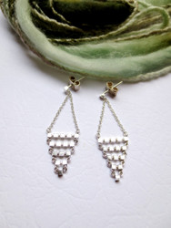 Nine50 Silver Malmo Earrings