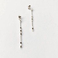 Nine50 Malmo Silver Earrings