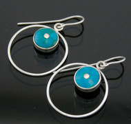 "Silver Earrings ""Circulo"""