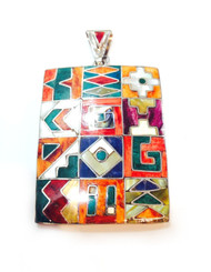 Large Ornate Inca Pendant