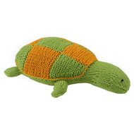 Hand Knitted  TURTLE 100% Organic Cotton