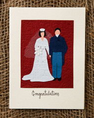 Congratulations Newley-Weds Card