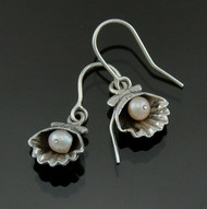 Nine50 Silver & Pearl Earrings