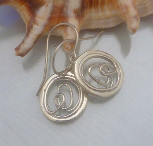 Nine50 Silver Twine Earrings