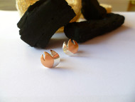 Nine50 Wildfire Silver & Copper Earrings