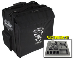 Privateer Press Big Bag with Wheels Pluck Foam Load Out