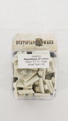 Dystopian Wars Republique of France Hotch FT-12 Class Small Tank