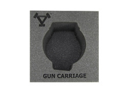 (Khador) Gun Carriage Battle Engine Foam Tray (PP.5-4)