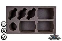 (Outlaw) 3 Ironhide 3 Iron Horse 1 Blackjack Foam Tray (WWX-4)