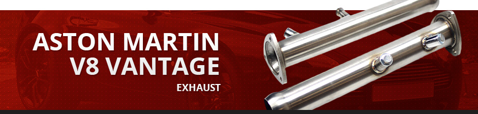 ASTON MARTIN V8 VANTAGE EXHAUST