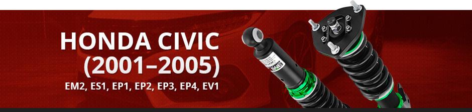 HONDA CIVIC (2001–2005) - EM2, ES1, EP1, EP2, EP3, EP4, EV1