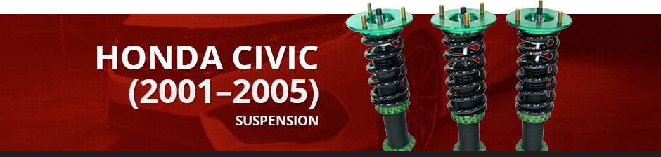 HONDA CIVIC (2001–2005) SUSPENSION