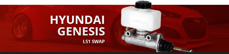 HYUNDAI GENESIS LS1 SWAP