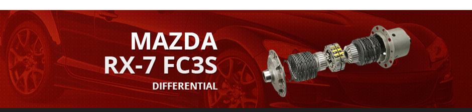 MAZDA RX7 FC3S DIFFERENTIAL