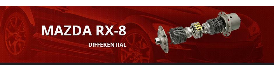 MAZDA RX-8 DIFFERENTIAL