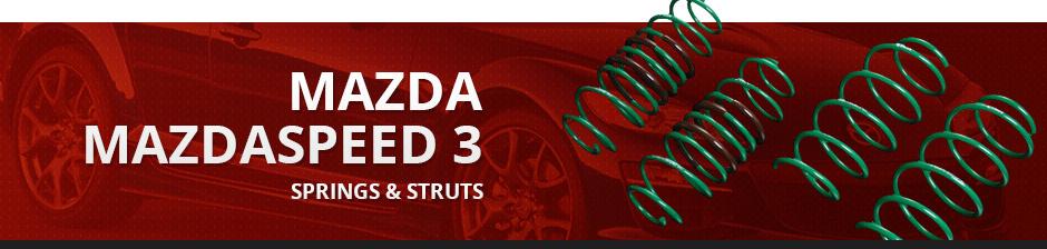 MAZDA MAZDASPEED3 SPRINGS & STRUTS