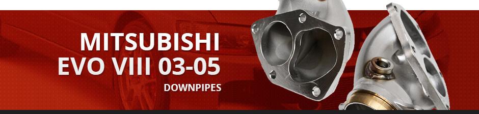 MITSUBISHI EVO VIII 03-05 DOWNPIPES