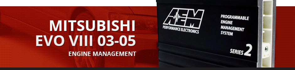 MITSUBISHI EVO VIII 03-05 ENGINE MANAGEMENT