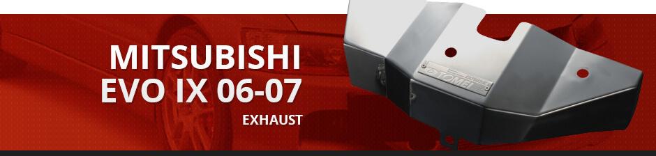 MITSUBISHI EVO IX 06-07 EXHAUST